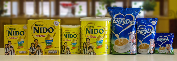 Nestle Dairy Products