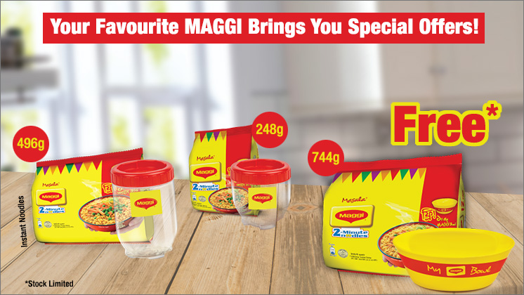 A special offer for both mums and kids from MAGGI!